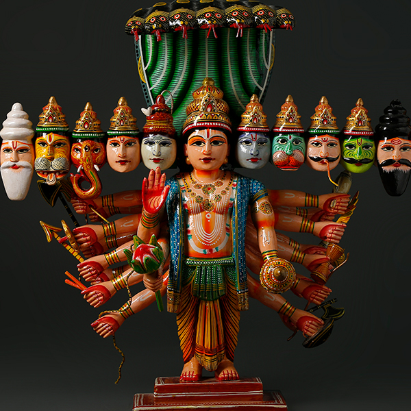 Benaras Wood Carving