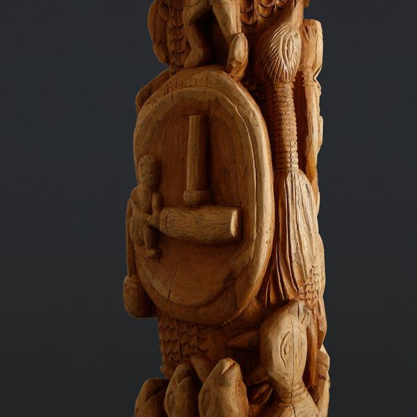 Tribal Wood Sculpture