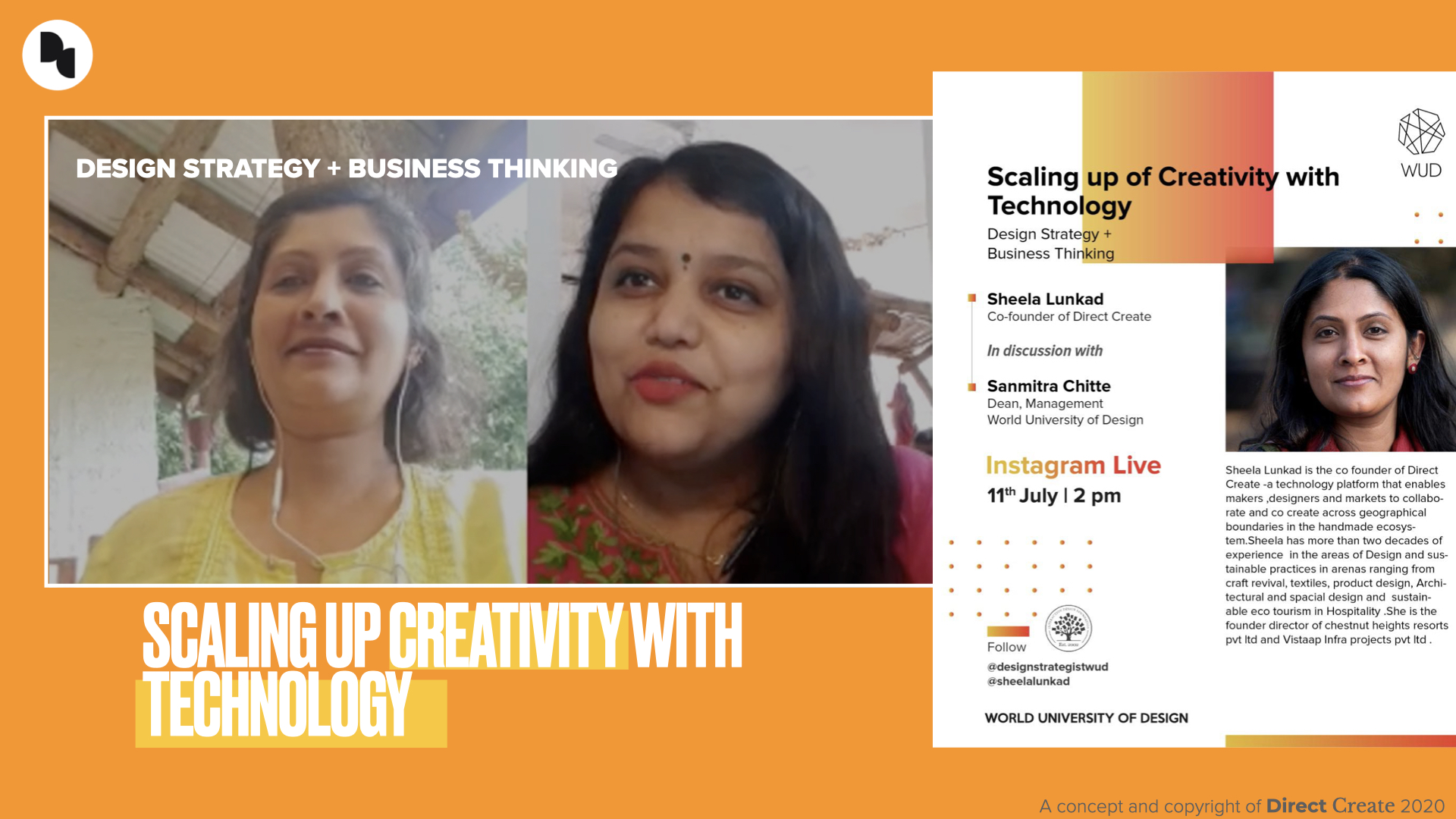 Scaling up of Creativity with Technology