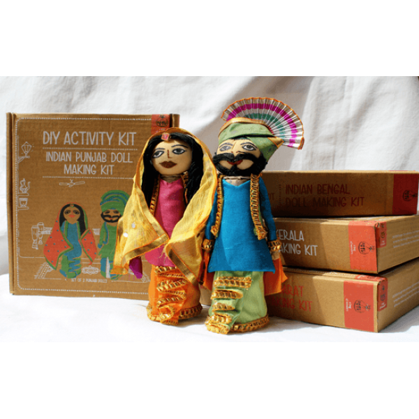 Indian Punjabi Doll Making  Kit