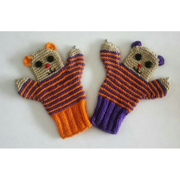 Hand Puppet Teddy Large