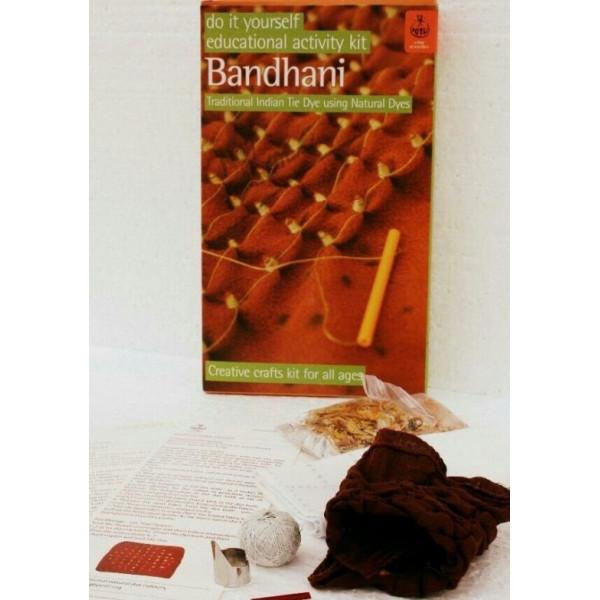 DYI-Bandhani Tie Dye Kit