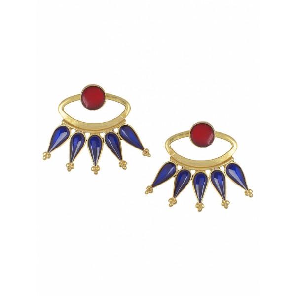 Zara silver cone earings