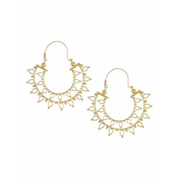 Zara silver hollow earings