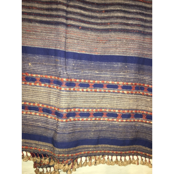 Handmade Cotton-Silk Stole