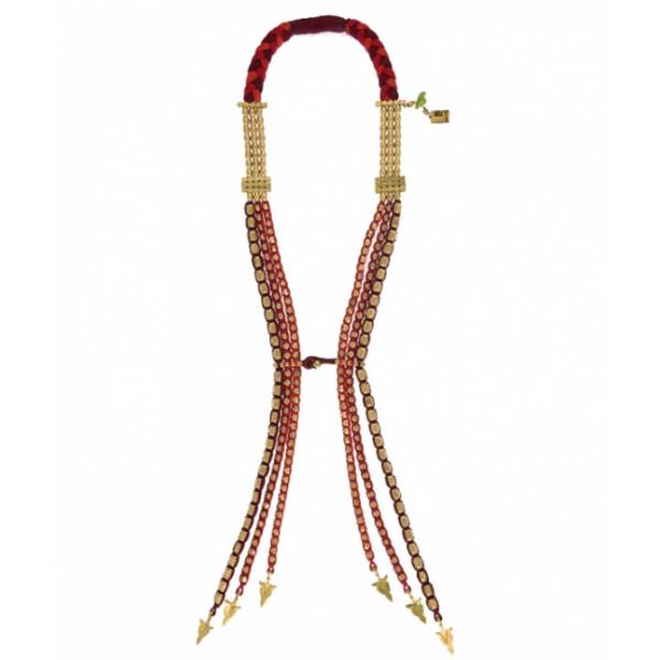 Temple Dawn Tie - Red