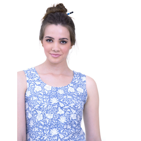 Gulfaam - Blue dress