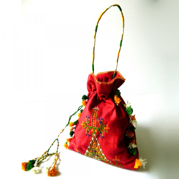Kala Raksha Maru Meghwal Potli Bag