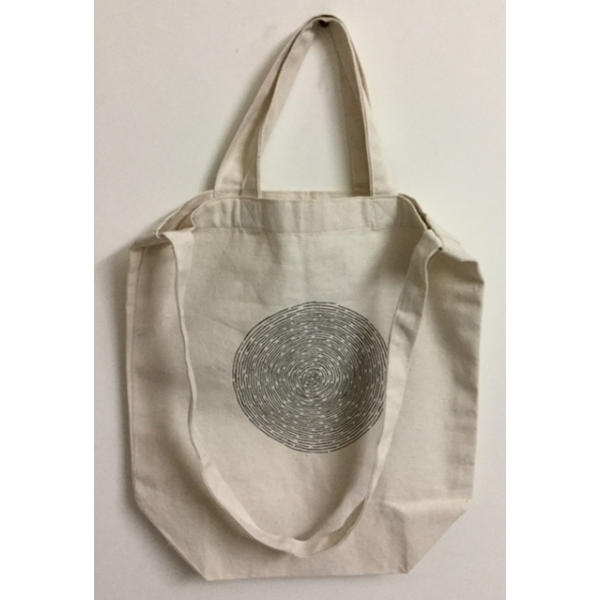 WARLI PAINTED 100% ORGANIC COTTON TOTE BAGS