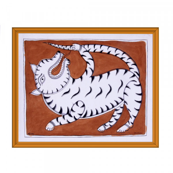 Pattachitra Animal Painting