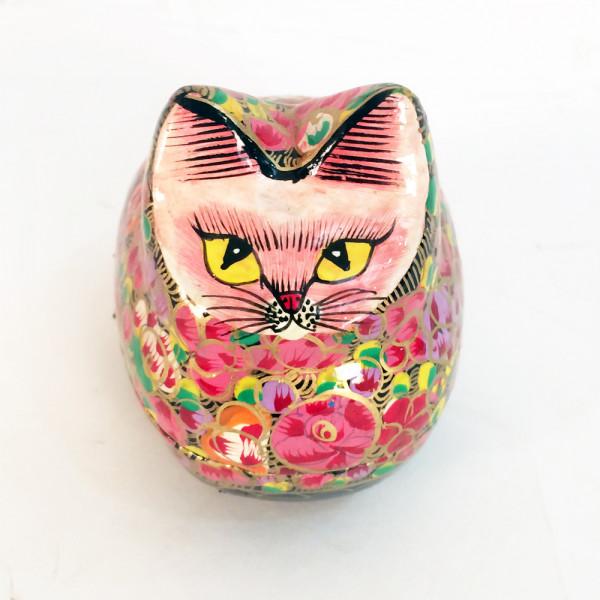 Paper Mache Cat Box