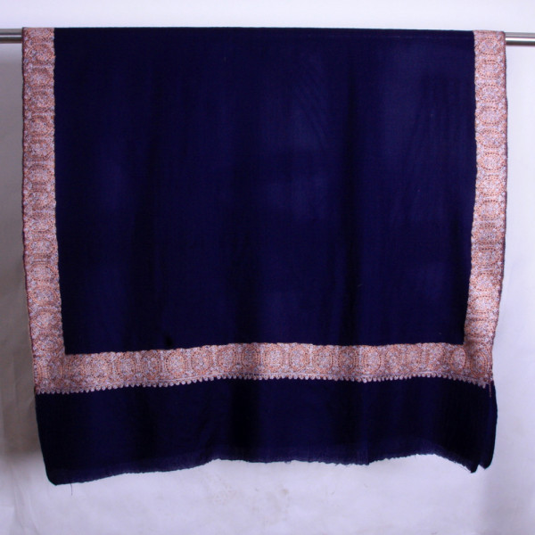 Semi Pashmina Chinar Work shawls