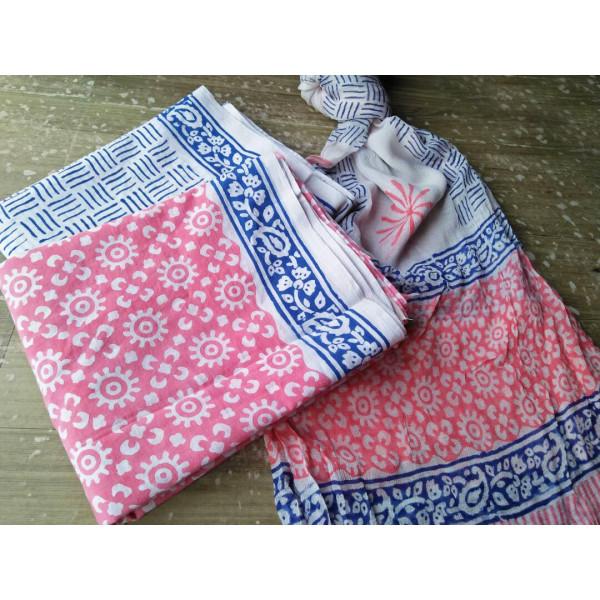 Block printed Dress material
