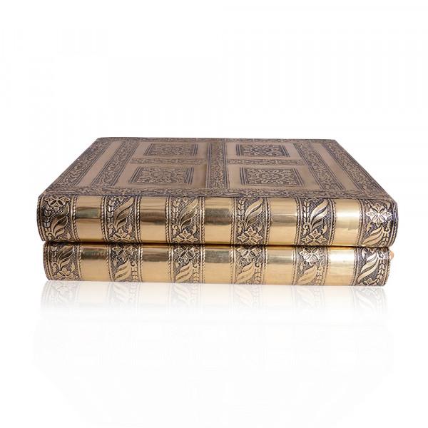 Aluminium laminated Wooden Gift Box Set of  100