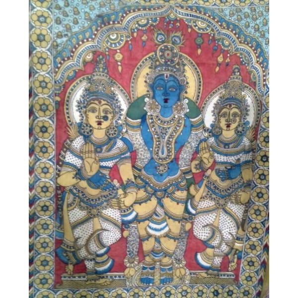 krishna with Gopis Painting