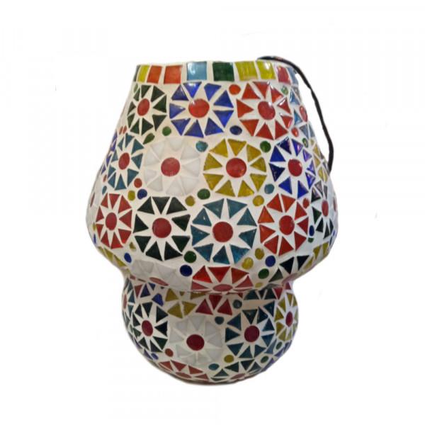 Mosaic Glass lamp