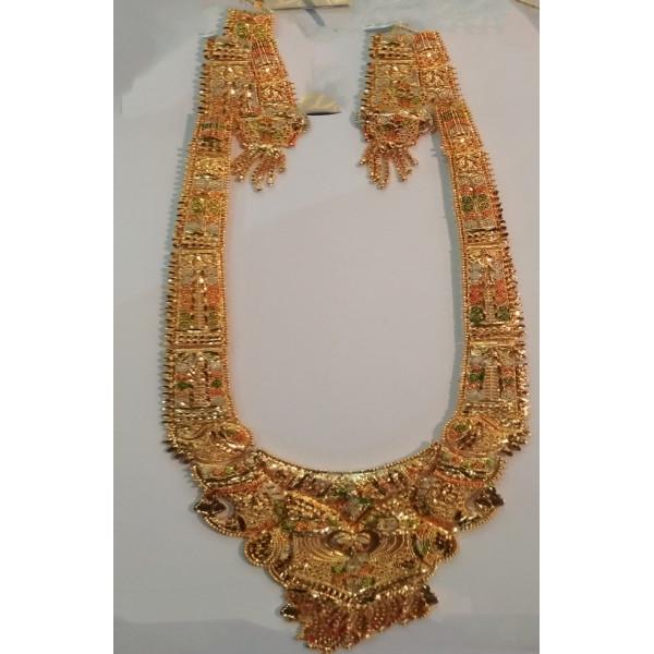 Golden Colour imitation Necklace Set