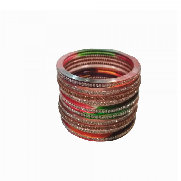 Multi Colour Bangle Set of 6