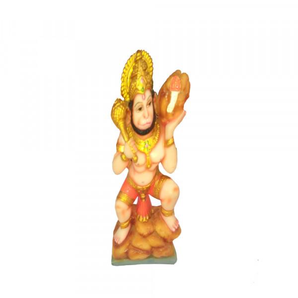 Porcelain Marble Lord Hanuman Statue
