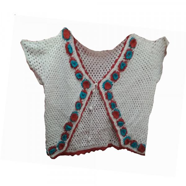 Cotton Thread  Strap Dress Short