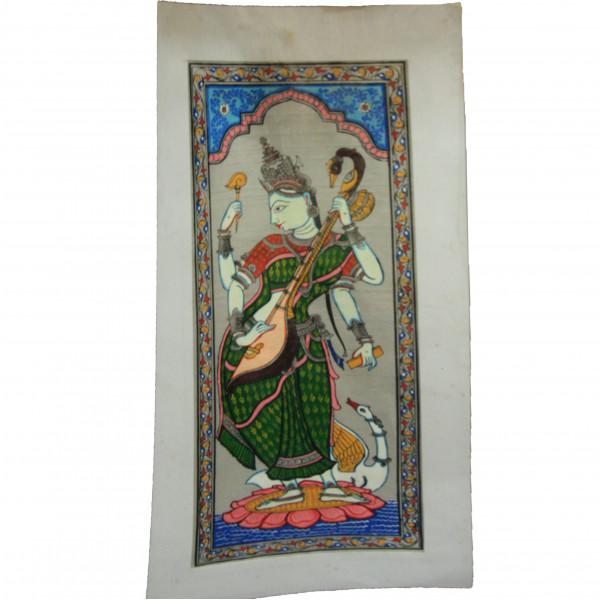 Patachitra Saraswati Paintings