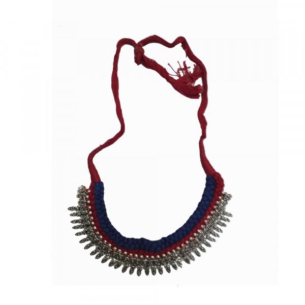 Copper Thread Necklace