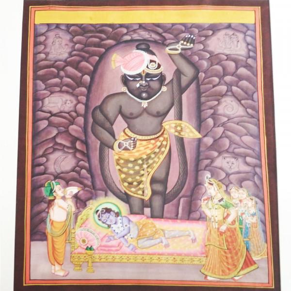 Mangla Darshan Shrinathji Painting
