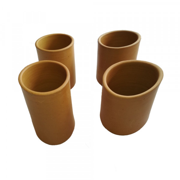 Clay Terracotta Glasses (Set Of 4)