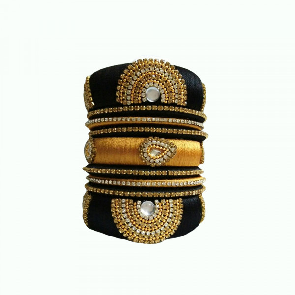 Debu Mehta Set of Thread Bangles