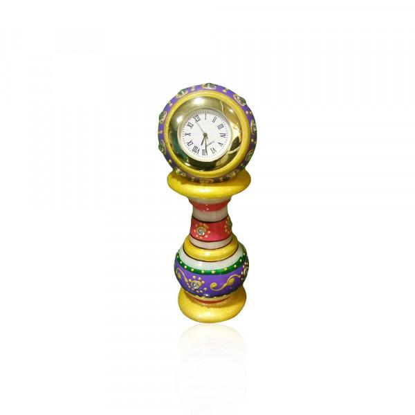 LEVANTAR  MAKRANA MARBLE DECORATIVE CLOCK.