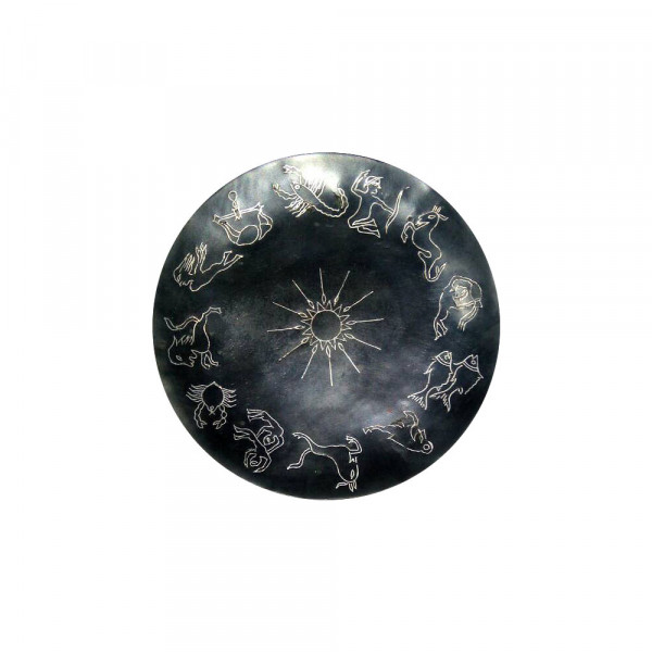 Jabeen Silver Inlay 12 jodiac sign