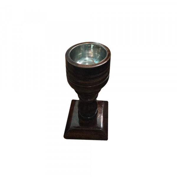 Rifaqat Ali Wooden candle stand