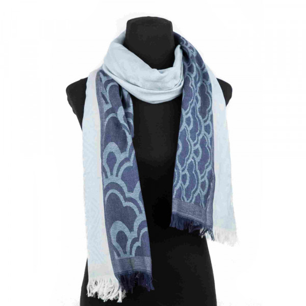 Sankam International Jacquard Woollen Stole