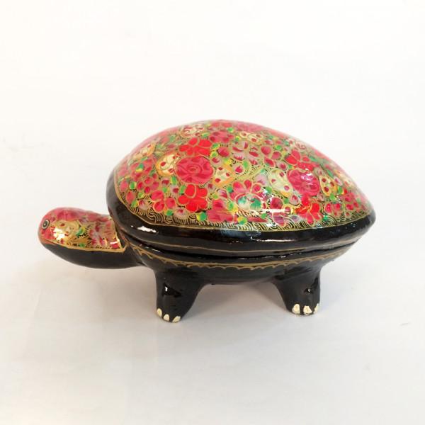 Paper Mache Turtle Box