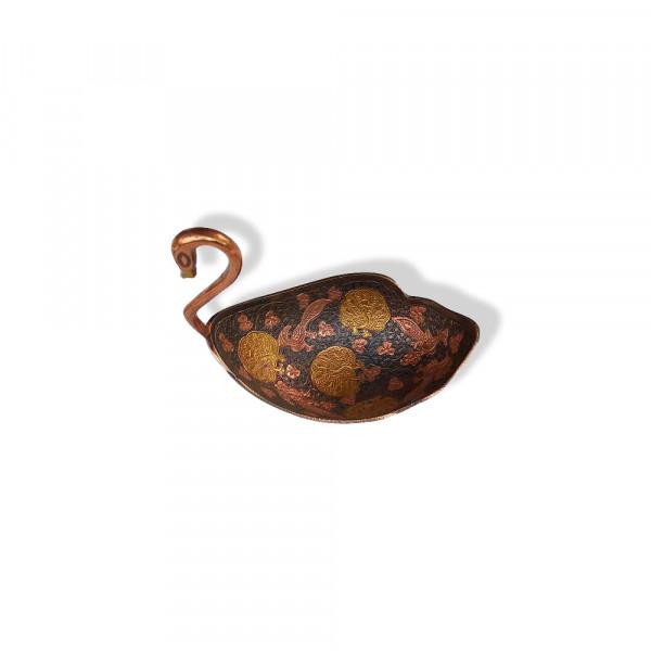 Bal kishan art Royal Brass Bowl with Meenakari work