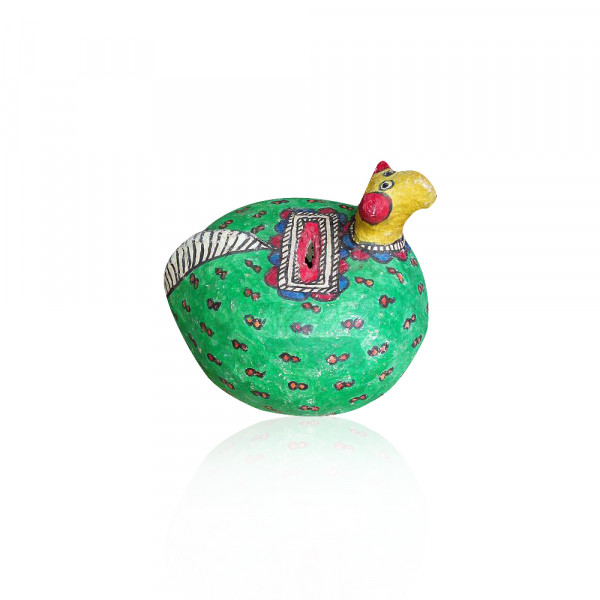 Sunita karna Paper Mache Money Bank