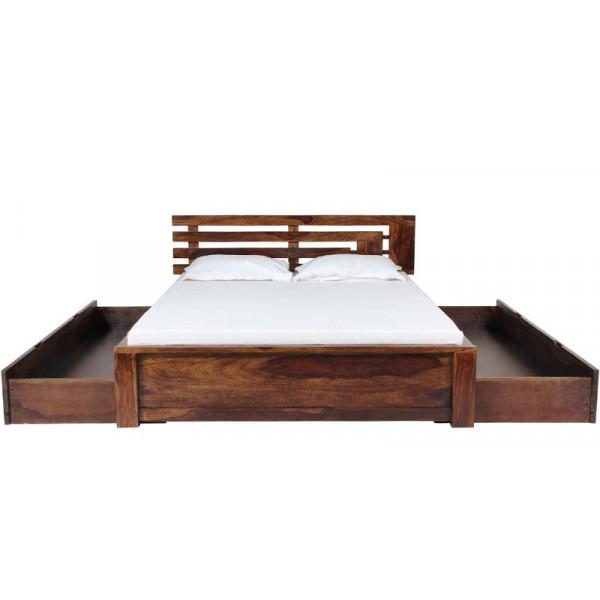 Samarth Craft Maharana Bed with Storage