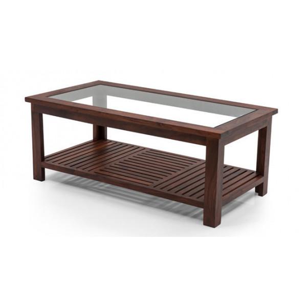 Samarth Craft Maharana Glass Central Table