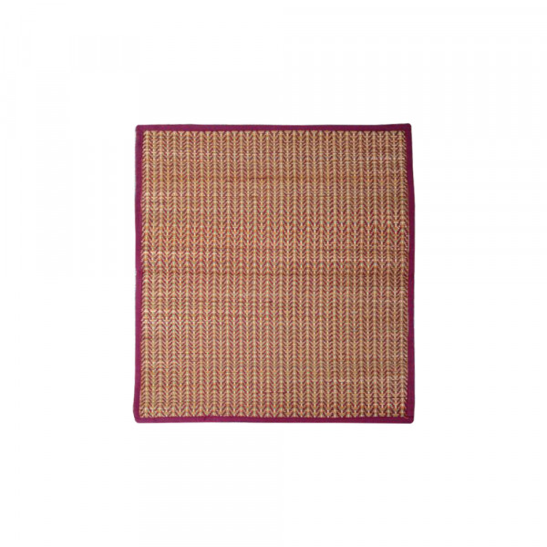 Raj grass handicraft Woven Grass Dining Table Mats Set of 6