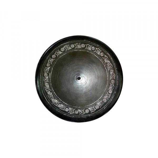 Sohit kumar Prajapati, Black Pottery Tray