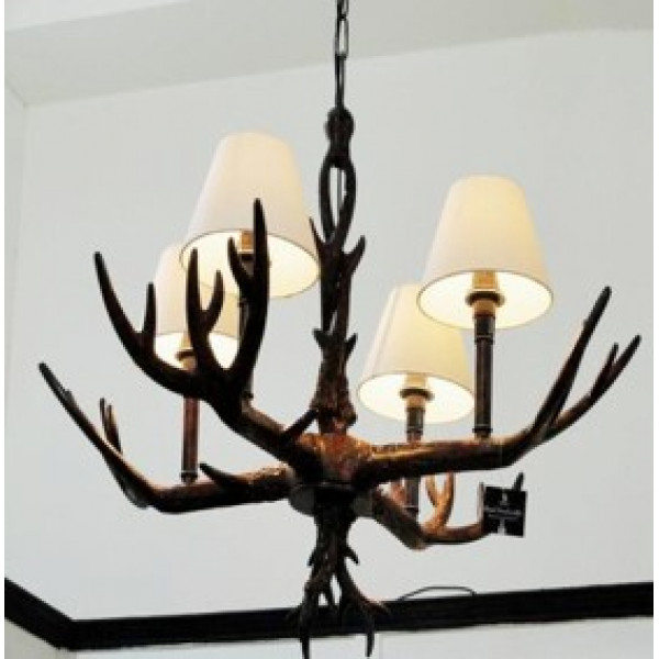 Royal Handicraft Antler Lamp