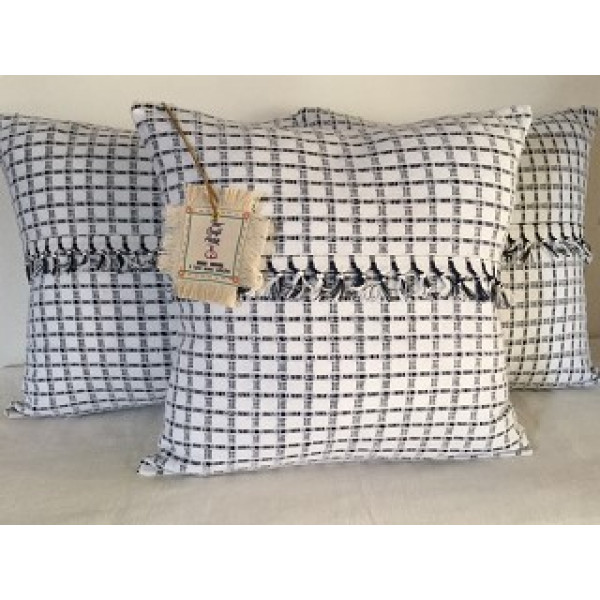 MAYA WEAVES KHADI COTTON CUSHION COVERS