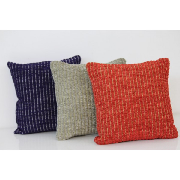 Gupta creations hand weaved cushion cover set of 3