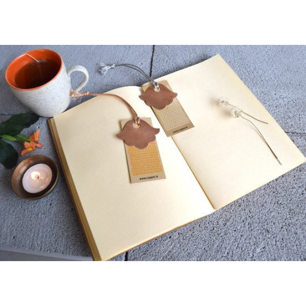 Coppre Floral Copper Bookmark