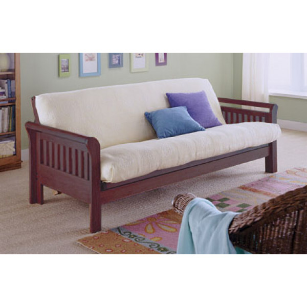 LifeEstyle Mango Wood Sofa  With Cushion And Without Covers