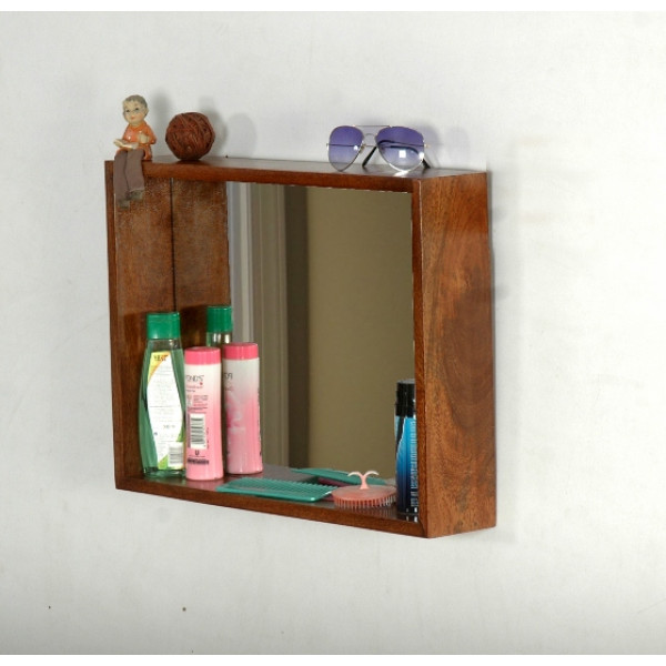 LifeEstyle Mirror Frame With Shelf