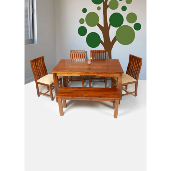 LifeEstyle 6 Seater Dining Set With Bench