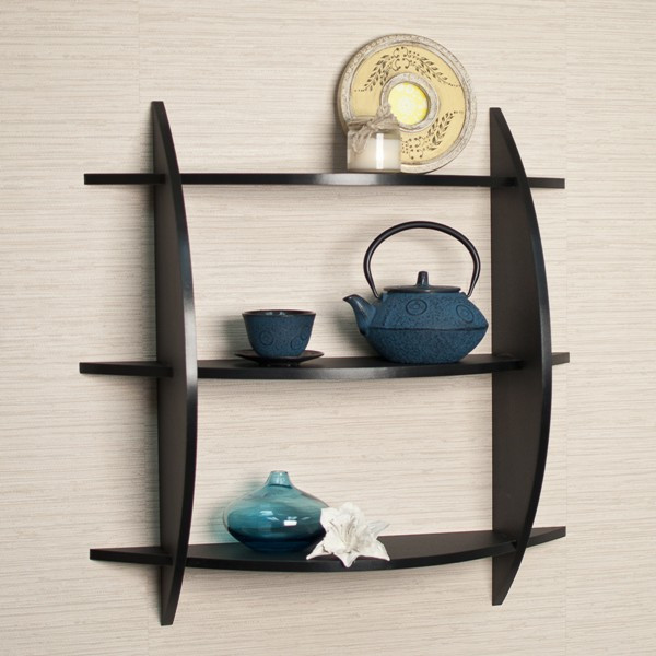 LifeEstyle 3 Tire Wall  Shelf With Display Rack