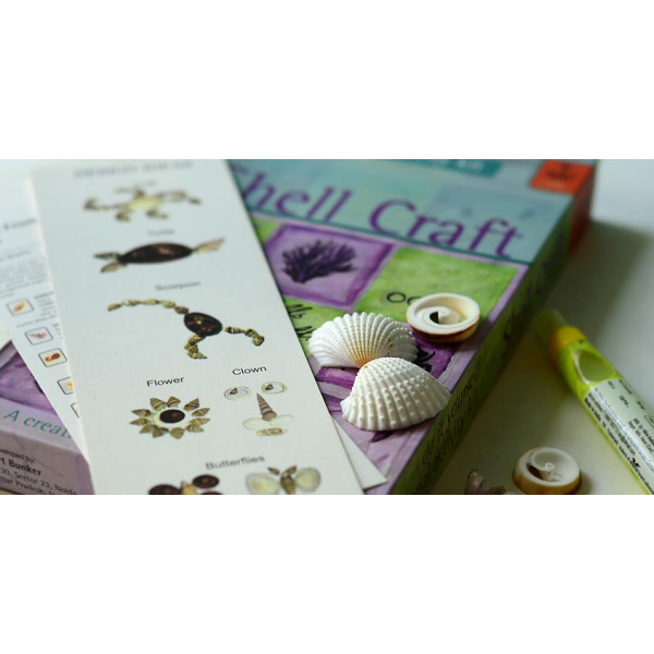 Potli DIY kit D.I.Y Kit (Shell craft)