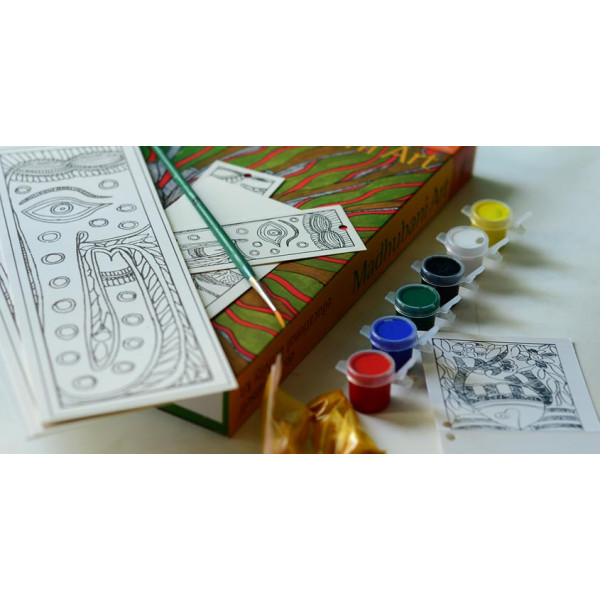 Potli DIY kit Madhuani painting